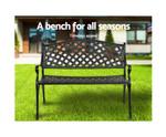 Eastlakes Park Aluminium Bench Seat