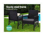 Eastwood 3PCS Dining Chairs Garden Patio