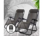 Engadine Chairs Reclining Sun Lounge