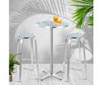 Ermington Cafe 3PC Bistro Bar Table Stools