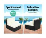 Flemington 2PC Sofa Set Lounge Chair