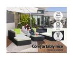 Glenfield  9pc Sofa Garden Patio Lounge