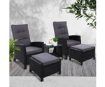 Glenhaven Recliner Chairs Table Lounge