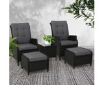 Gordon 2 Recliner Chairs lounge Patio Set