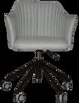 Coogee Castor Black Arm Chair