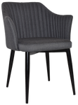 Coogee Metal Black Arm Chair