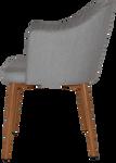 Coogee Metal Lightoak Arm Chair