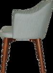 Coogee Timber Light Walnut Arm Chair