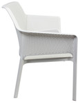 Taupe Net White