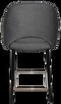 Albury 650 Metal Black Arm Stool
