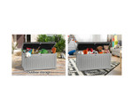 Ascot Outdoor Storage Box Bench Seat