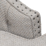 Callide Wingback Armchair -  Sterling Sand