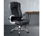Artiss Black PU Leather Executive Office Desk Chair