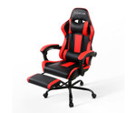 Seating Racer Black & Red PU Leather Office Chair