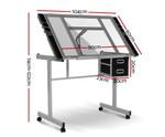 Artiss Grey Adjustable Drawing Desk