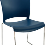 William Stacking Visitor School Cafe Chair