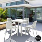 Ares Outdoor Table Setting with Air Chair