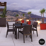 5 Piece Table Setting with Ibiza Armchair
