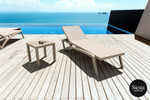 3 Piece Pacific Sun Lounger with Ocean Side Table Package