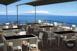 Tahiti 6 Seater Resin Rattan Dining Setting with Florida Chair