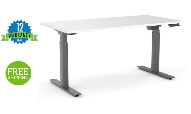 Nimble  Sit/Stand Height Adjustable Desk Automatic / Electric - Black Frame