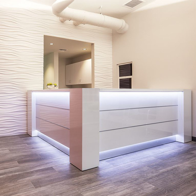 Pillar Reception Desk