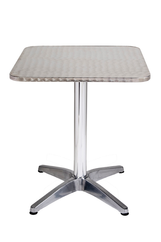 Inter Stainless Steel Hospitality Table - Square