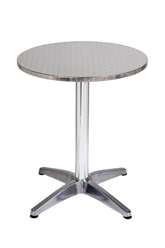 Inter Stainless Steel Hospitality Table - Round