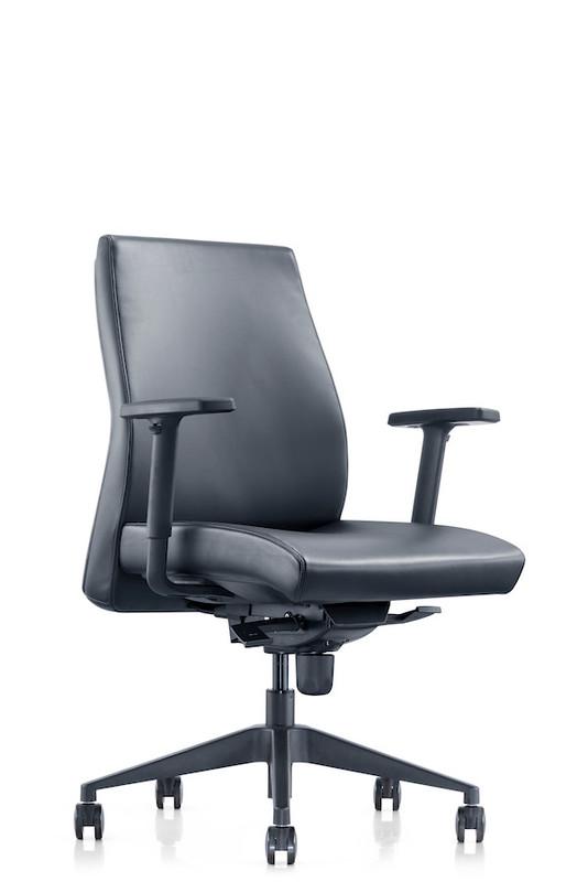 Venus Modern Executive Seating / Chair - Black PU