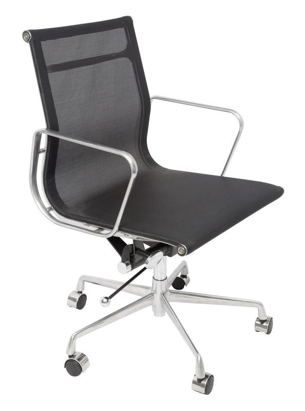 WM600 Mesh Meeting Room Chair - Black