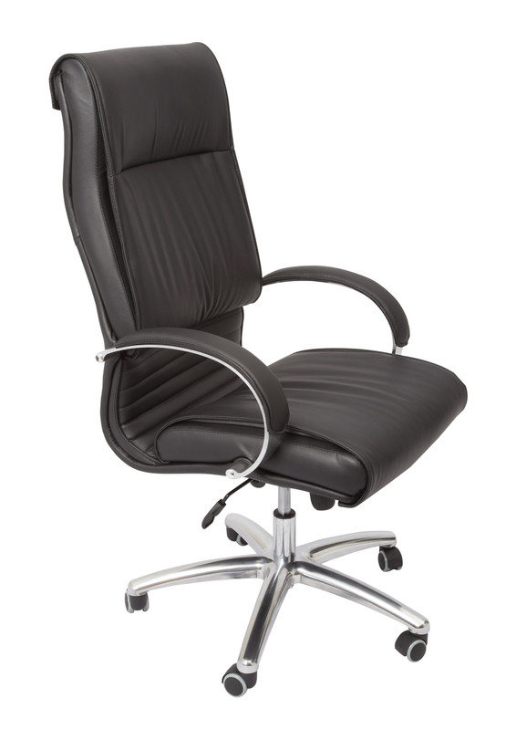 Extra Large High Back Executive Chair- Black PU Leather