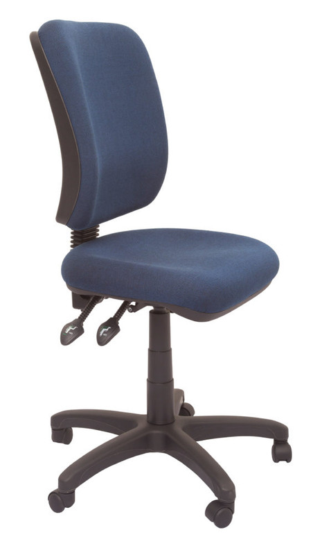Heavy Duty Commercial Grade Square Back Operator Chair