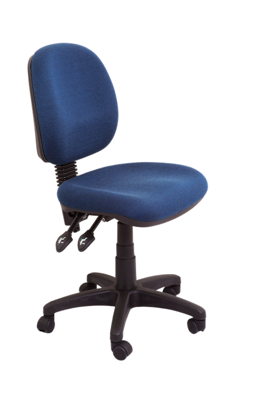 Commercial Grade Medium Back Ergonomic Operator Chair