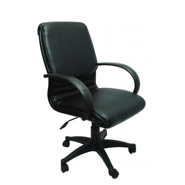 Budget Executive Chair- Black PU Leather