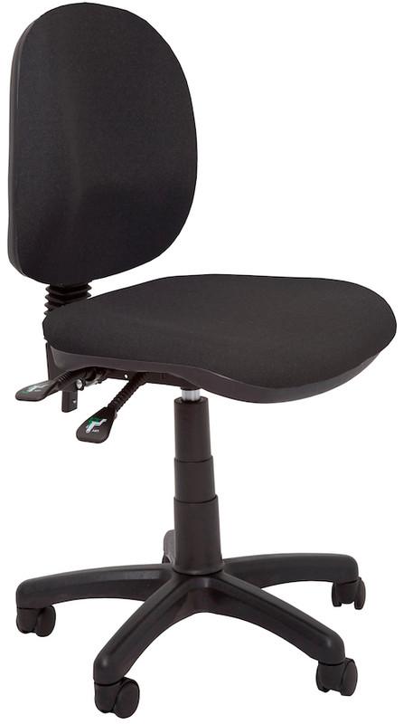 Budget Medium Back Operator Chair-Black