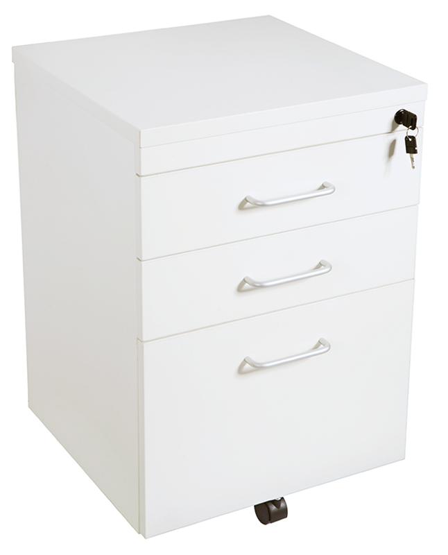 Quick Span 3 Drawer Mobile Pedestal