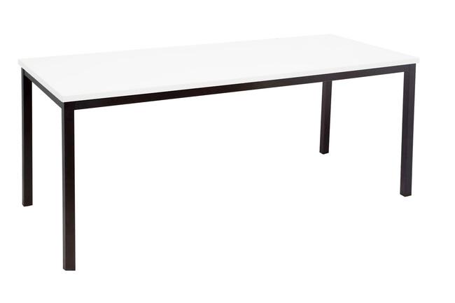 Steel Frame Rectangular Table