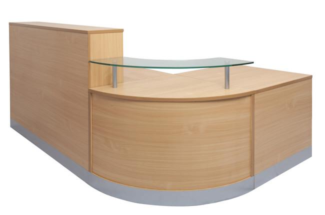 Flow Reception Counter - Beech