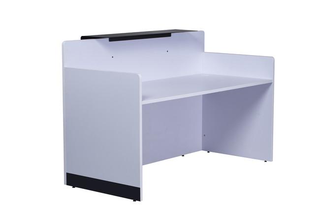 Quick Span Reception Counter - Brilliant White