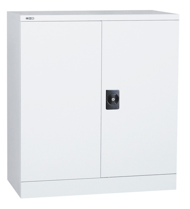 Life Heavy Duty Large Stationery Cupboard - Flat Pack