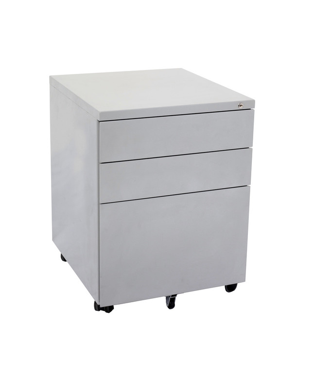 Quickline 3 Drawer Steel Mobile Pedestal