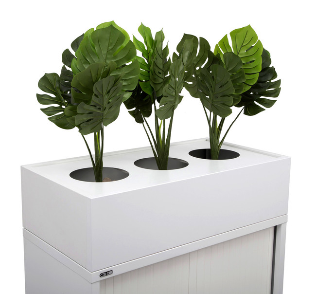 Planter Box to Suit Life Tambour Door Units And Lateral Filing Cabinets
