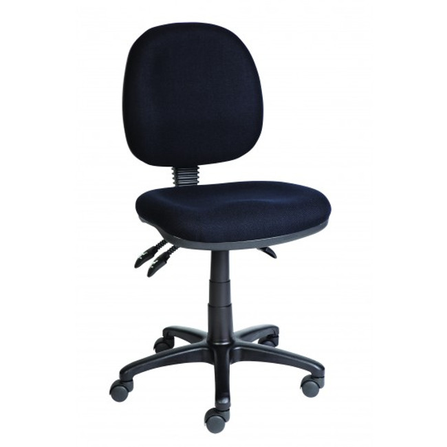 AutoErgo Ergonomic Clerical Chair - Black