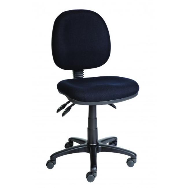 AutoErgo Ergonomic Clerical Chair - Black