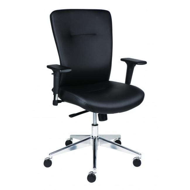 Bent Executive Chair - Black PU