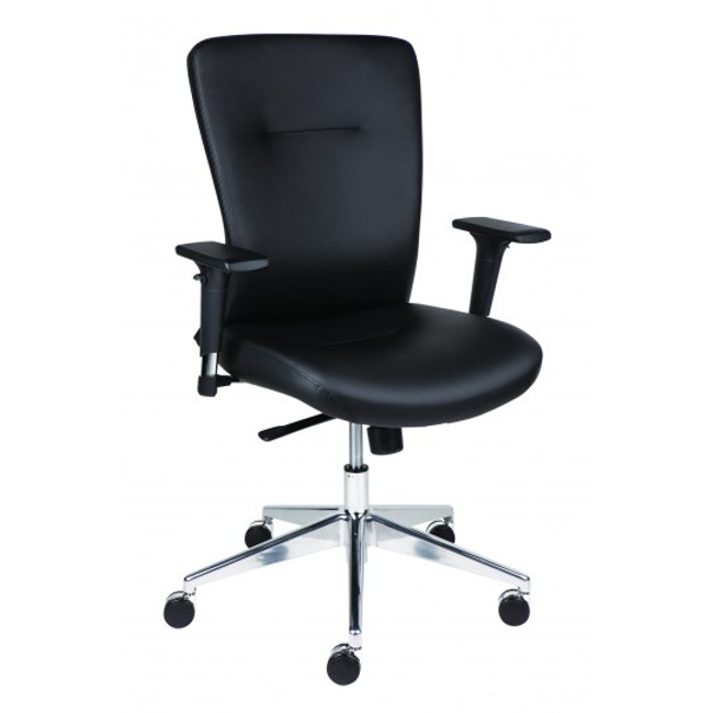 Bent Executive Chair - Black PU