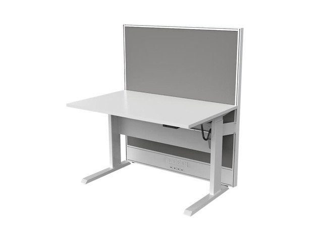 Axle Electric Sit Stand Office Desk with Screen
