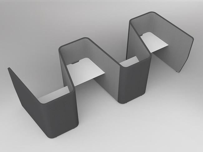 Mod Zip 4 Person Activity Based Working Desks