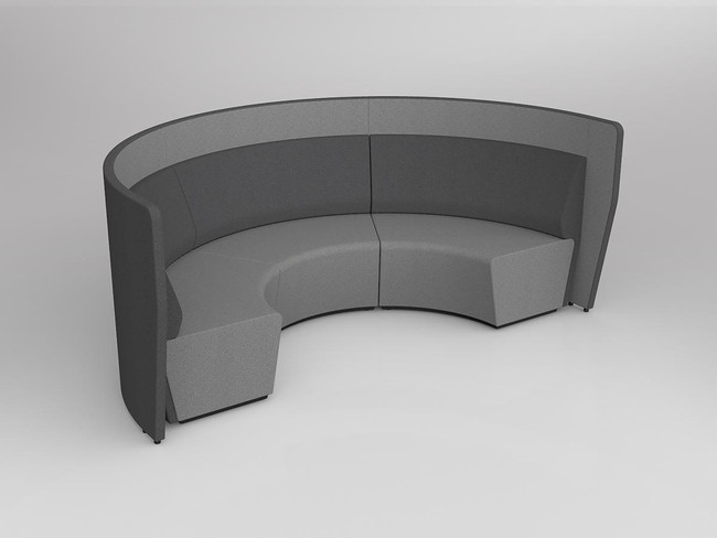 Mod Arc 3 with wall - Inner Black