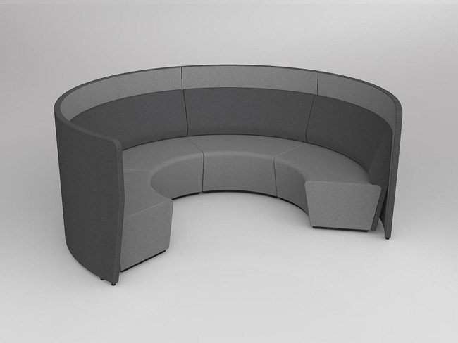 Mod Arc 4 with wall - Inner Black